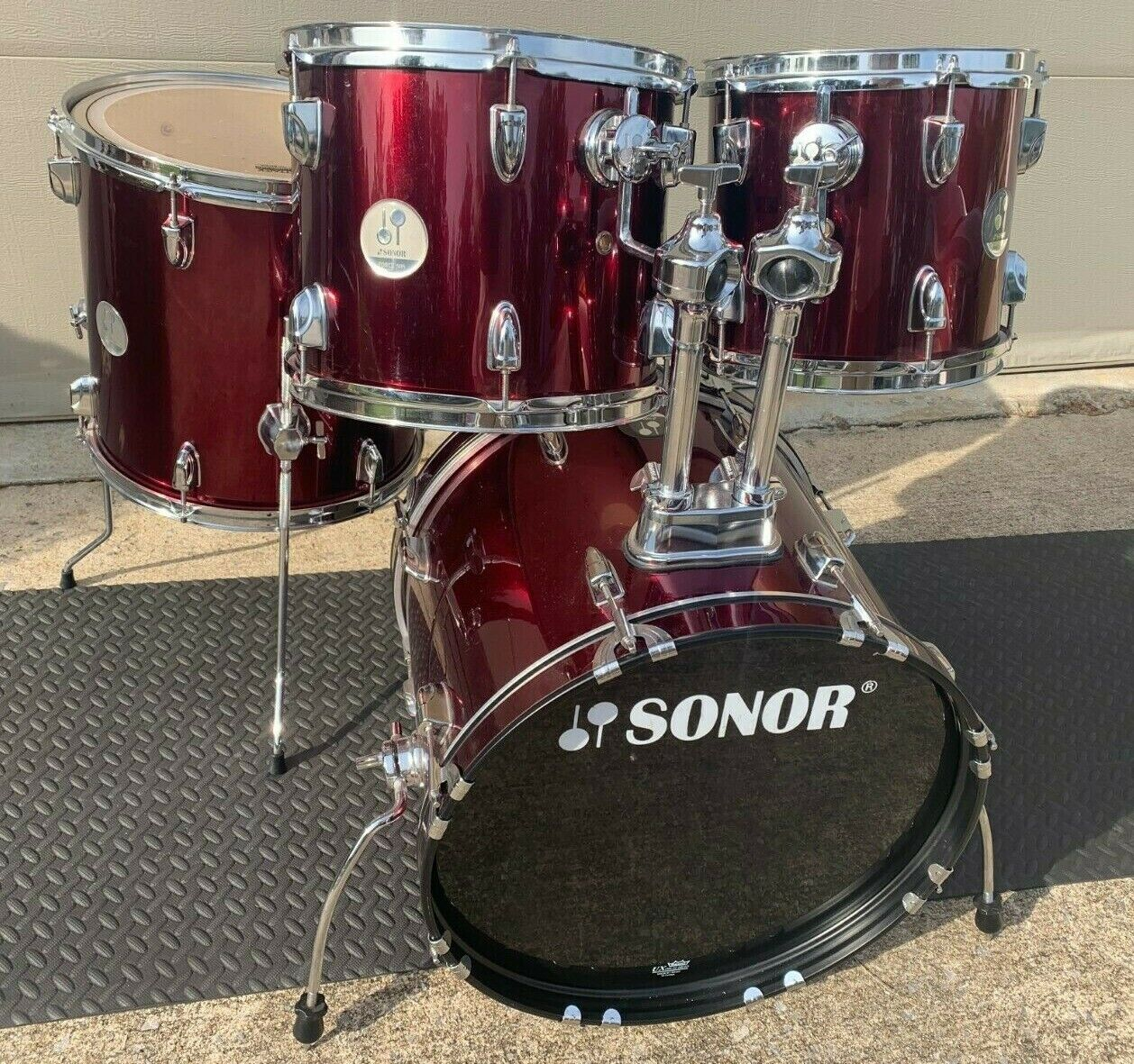 Sonor Force 505 4 Pc Bop Shell Pack - 18 10 12 14  - $225.00