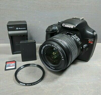 Canon EOS Rebel T3 12.2MP DSLR Camera (Kit w/ EF-S IS 18-55mm Lens)
