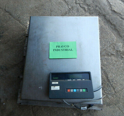 Fairbanks Model H70-4100 Scale 1000lb Capacity With Toledo 8140 Digital Readout