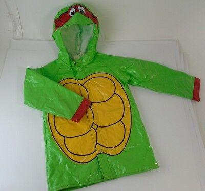 1990s Teenage Mutant Ninja Turtles Poncho Rain Coat Jacket Costume Raphael TMNT](Raphael Teenage Mutant Ninja Turtle Costume)