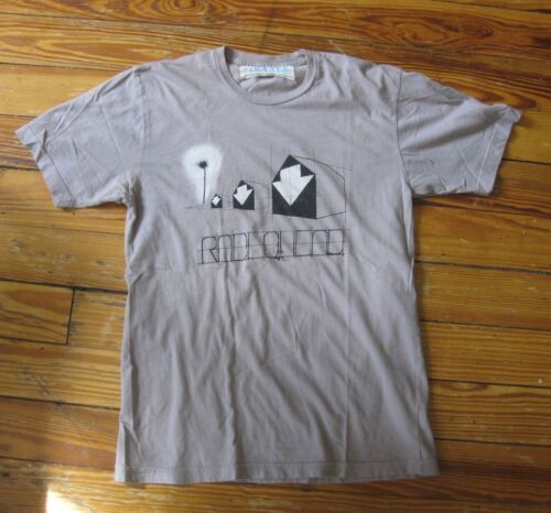 RADIOHEAD  -  T-shirt - medium M - W.A.S.T.E. - gray