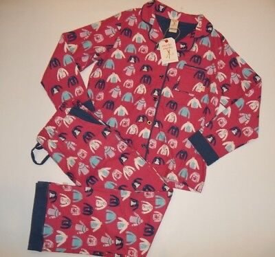 MUNKI MUNKI Ugly Sweater LOGO Flannel PAJAMAS SET PANTS Top womens LARGE NEW  - Ugly Sweater Pajamas