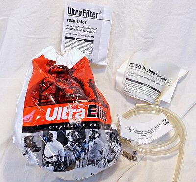 Msa Ultra Elite Respirator Face Mask New 813210-s 813208-m813212-l 2a5