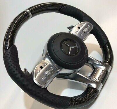 Mercedes-Benz W222 C217 AMG Performance Leder & Carbon Faser Lenkung Lenkrad