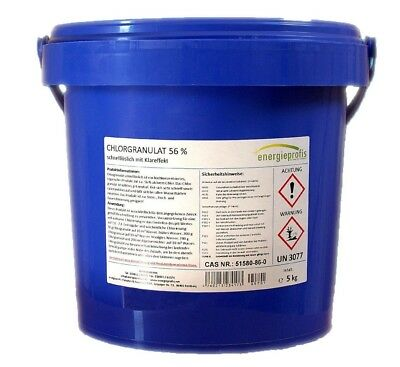 5 kg Chlorgranulat schnell Chlor Granulat Desinfektion Pool