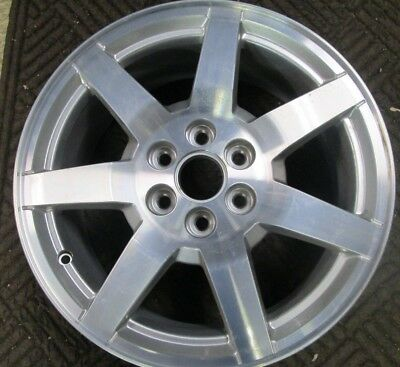 "2006-2009 Cadillac SRX Wheel OEM Original Factory Silver 17"" Rim #9595747 #4606"