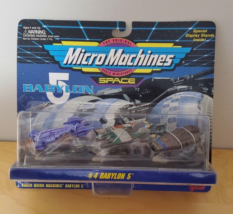 Babylon 5 Micro Machines Space #4 Narn Fighter Crew Shuttle Minbari Flyer 65620