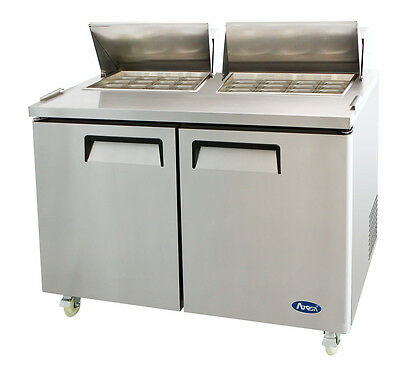 Atosa Msf8307 Stainless Steel Mega Top Sandwich Prep Table 60 Free Liftgate