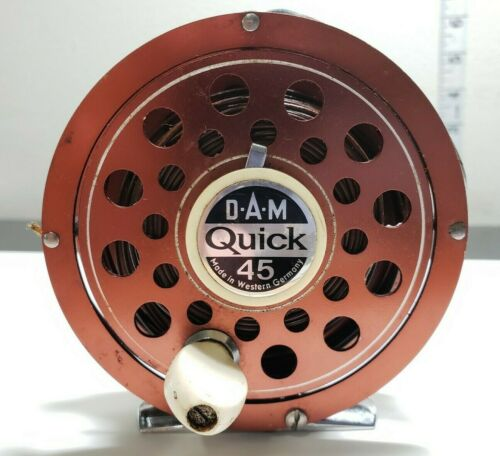 DAM Quick 45 Fly Fishing Reel Made in Western Germany