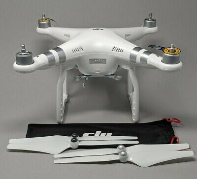 DJI Phantom 3 Advanced QUADCOPTER ONLY and props - New - Never Activated