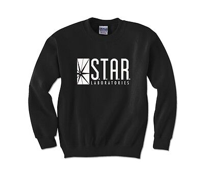 STAR LABS logo Sweater Flash movie Dr Wells metahuman sweatshirts Christmas Gift - Cheap Christmas Sweater