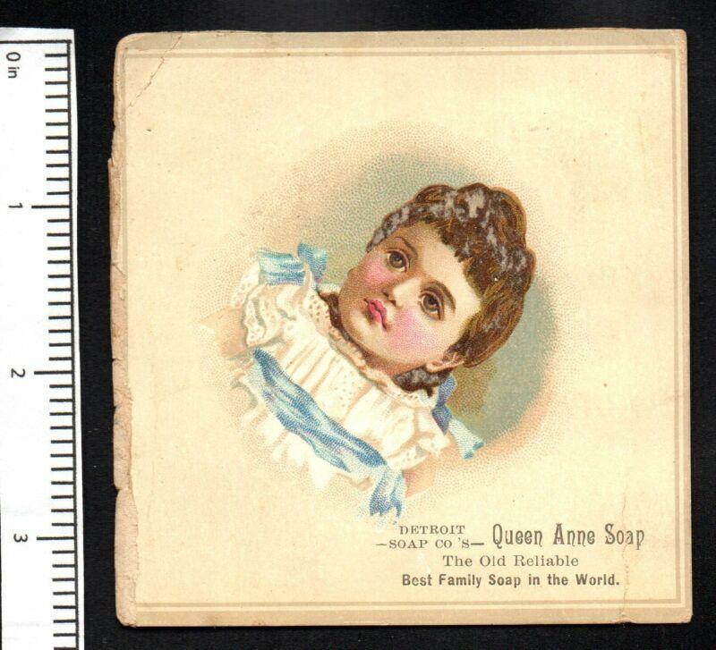 BABY GIRL BUGLE BOY DETROIT SOAP 1880