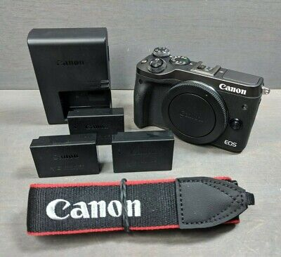 Canon EOS M6 24.2MP Digital Camera Black - Great Condition!