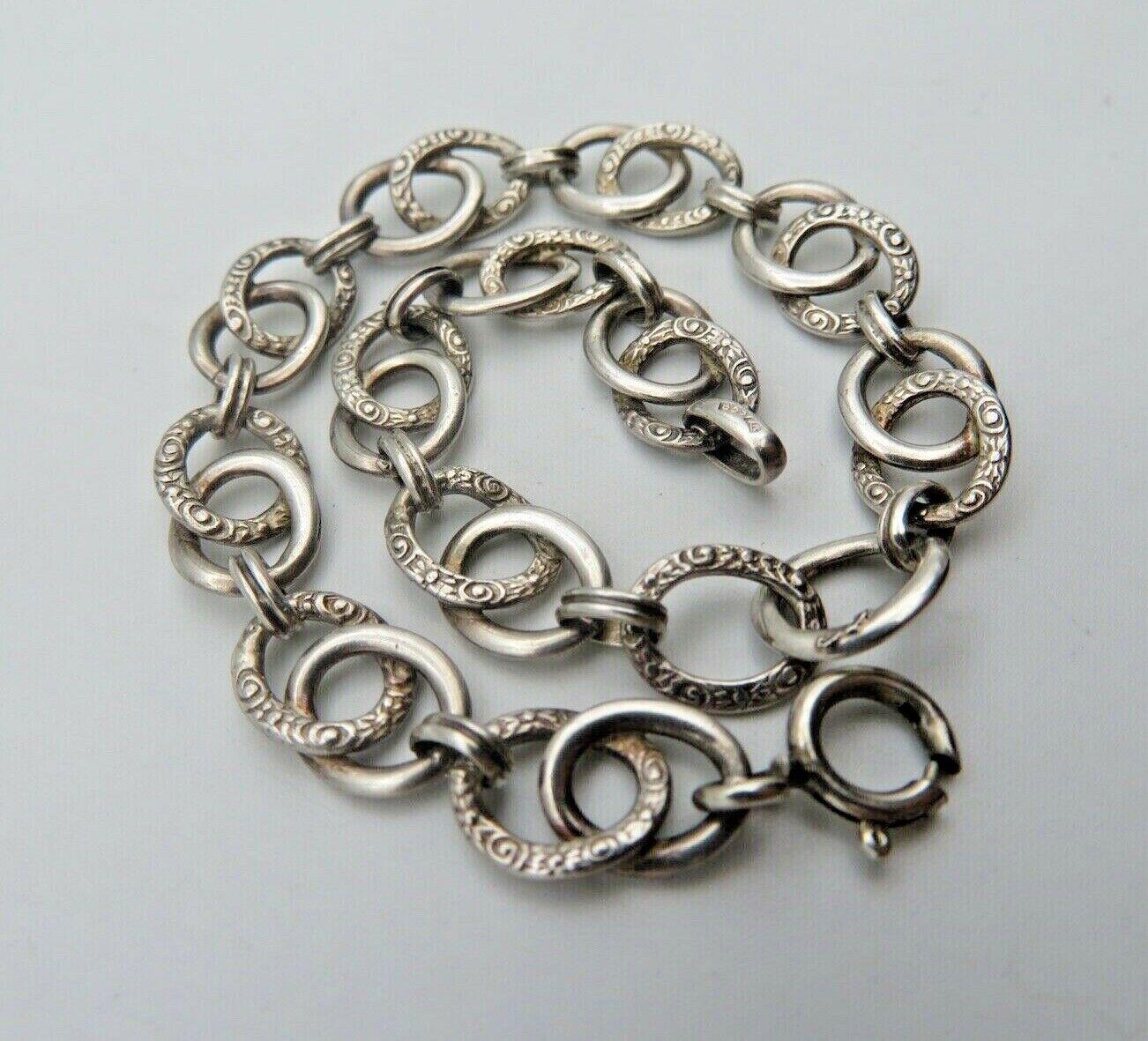Jugendstil Armband in Silber 800 (A127)