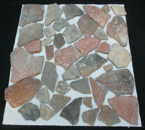 * Anasazi Pottery Shard Prehistoric Native American Artifacts 46 pcs Arizona