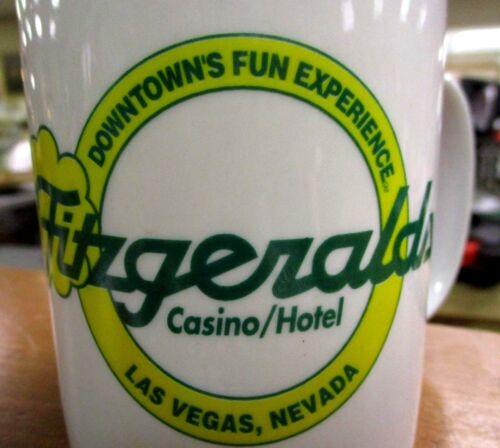 Fitzgeralds Casino Las Vegas Souvenir Coffee Cup Mug