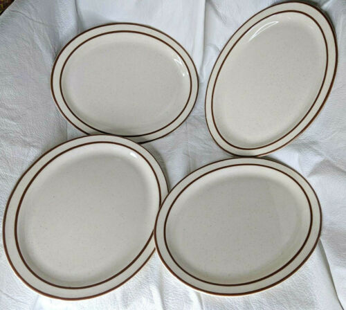 Buffalo China Oval Plates 4