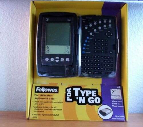 NEW PDA Type n Go Fellowes All in One Keyboard & Case **FREE PRIORITY SHIPPING