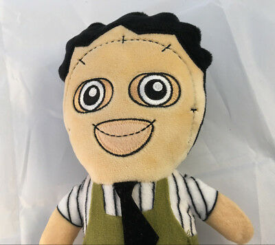 Leatherface Texas Chainsaw Massacre Halloween Plush Happy Phunny LootCrate](Happy Halloween Leather Face)