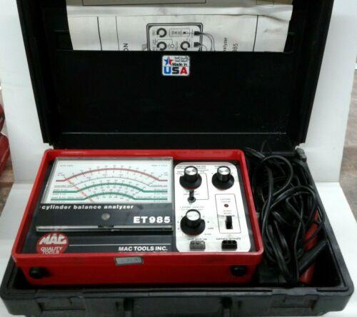 Mac Quality Tools Cylinder Balance Analyzer ET985