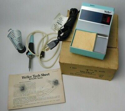 Nos Weller Soldering Station Wtcpn In Box Tc202 Tc201 Pencil