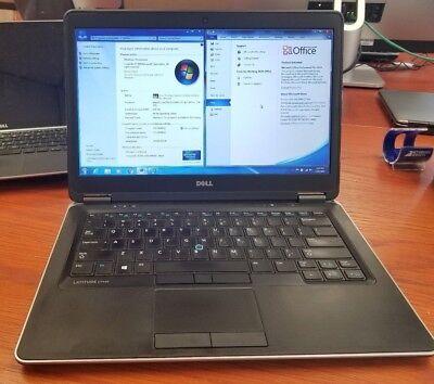 Dell Latitude E7440 14  I5  256 Gb Ssd  8Gb Ram    Office Pro  Laptop