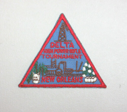 DELTA HIGH POWER RIFLE TOURNAMENT NEW ORLEANS, LOUISIANA COLLECTIBLE PATCH