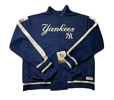 New New York Yankees, stitches athletic Jersey Men's size L NY Logo Navy Blue