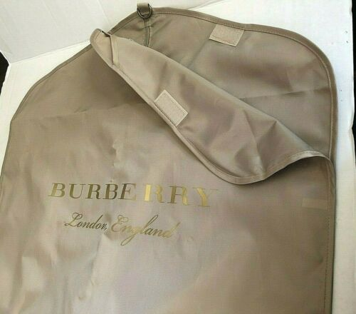 Burberry Accessory Suit Garment Dress Storage Luggage Zippered Bag