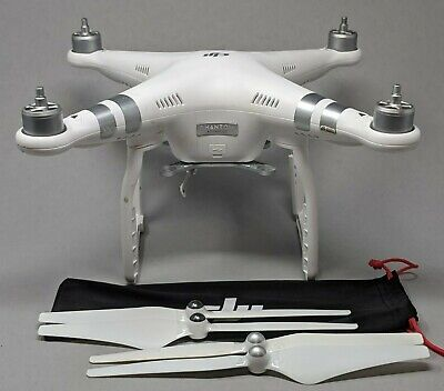 DJI Phantom 3 Advanced QUADCOPTER ONLY with an increment of props - Awesome Drone