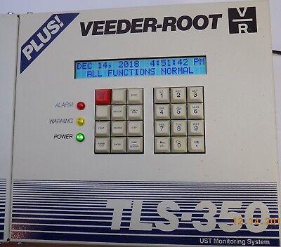 Rebuilt Veeder-root Gilbarco Tls-350 Plus Console With Printer 4-probe Module