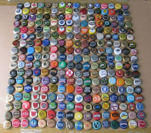 272 DIFFERENT MIXED USA MICRO CRAFT CURRENT/OBSOLETE BEER BOTTLE CAPS