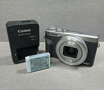 Canon Powershot G7X Mark III (SILVER)