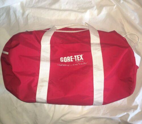 VTG Gore-Tex Outerwear Duffle Bag RARE PROMO Spellout Logo GYM Hiking OUTDOORS