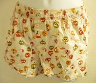 Old Navy Orange,Yellow, Pink & White Girls Pumpkin Design Halloween Shorts Sz XL](Old Navy Halloween Boxers)