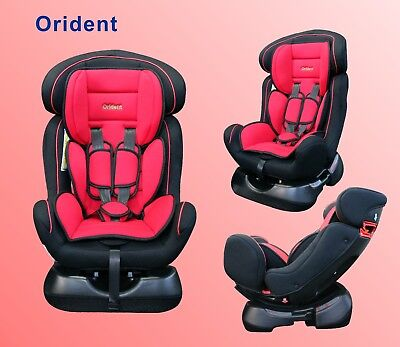 BABYSCHALE Autositz 0 bis 25 Kg Autokindersitz EU-Norm ECE 44-04  +0.1.2.  ROT