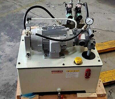 Toyopac Tp63na-c5-e Power Hydraulic Vane Pump With 63 Litter Of Oil Reservoir