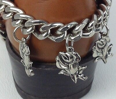 VTG Womens Boot Chain Harness w/ Charms by Brass Head NOS