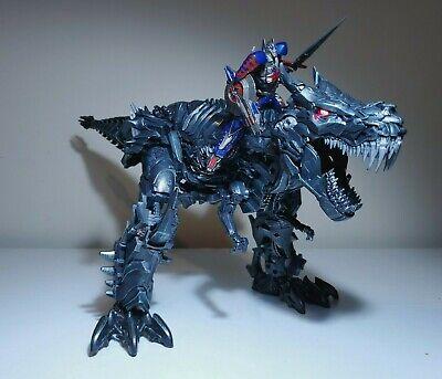 US Seller Oversized KO Studio Series 07 Grimlock + Optimus Prime Transformer