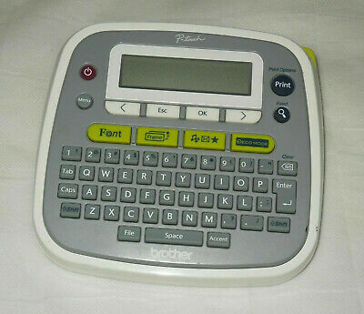 P-touch Brother Pt-d200 Label Maker Printer Tested Working Great Cond
