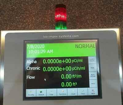 Smartcam Continuous Air Monitor Alpha Beta Radiation Detector