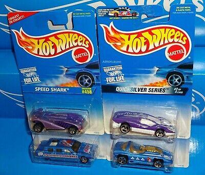 Hot Wheels Lot 4 Vehicles Speed Shark Limozeen Vampyra Aeroflash Silhouette II