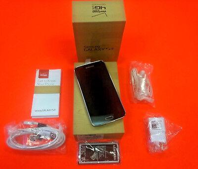 New Samsung Galaxy S5 SM-G900V - 16GB - Charcoal Black...