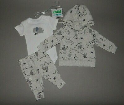 NWT, Baby boy clothes, Newborn, Carter's 3 piece cardigan set
