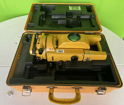Topcon Gts-2 Theodolite Total Station Surveying Equipment W Case