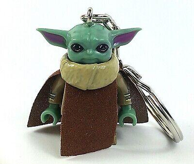 Baby Yoda Figure Keyring Star Wars Keyring Mini Bag Charm Mandalorian UK