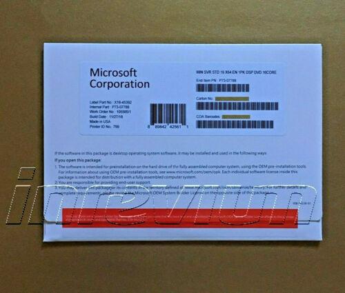 ~~~Windows Server Standard 2019- 16 Cores   Full License [Brand New]~~~~