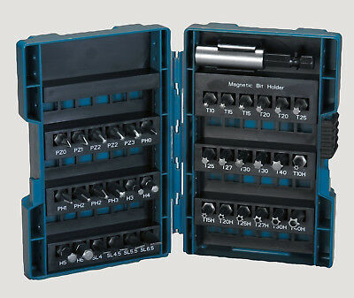 Makita B-28606 Bit-Box Schrauberbit-Set 37-teilig ( Phillips + Pozi + Torx )