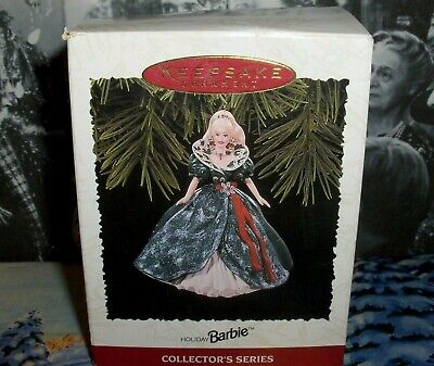 Holiday Barbie`1995`#3 In The Holiday Barbie Series,Hallmark Christmas Ornament