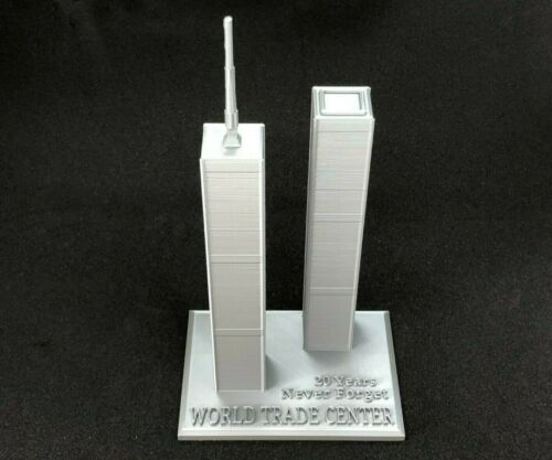 """World Trade Center 20th Anniversary """"TWIN TOWERS"""" NYC 2021 """"Never Forget"""""""